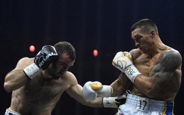 Победа Усика в Москве: полная запись боя