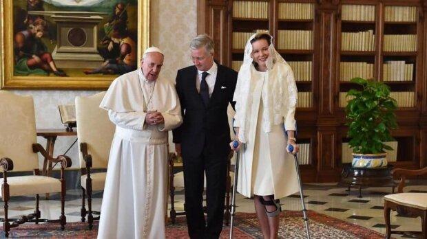 Король Бельгії та королева Матильда у Ватикані
