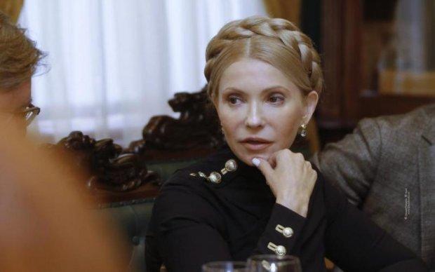 Поза Тимошенко в Раді збудила українців
