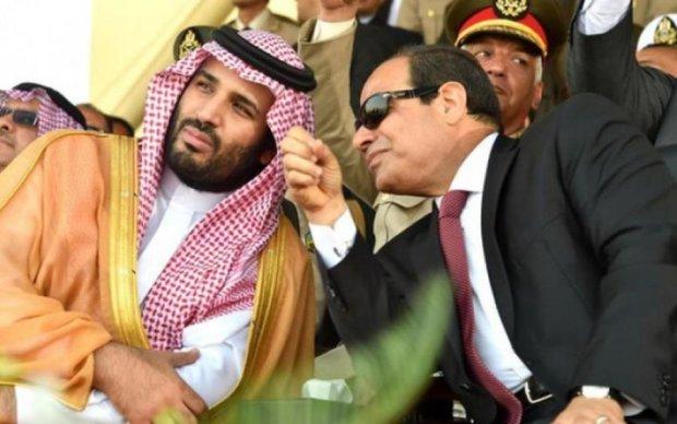 Египет щедро одарил саудитов