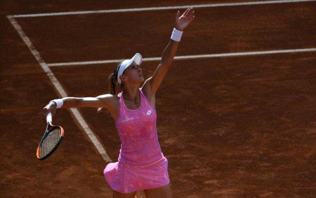 Українка Цуренко пройшла до другого кола тенісного турніру в Римі