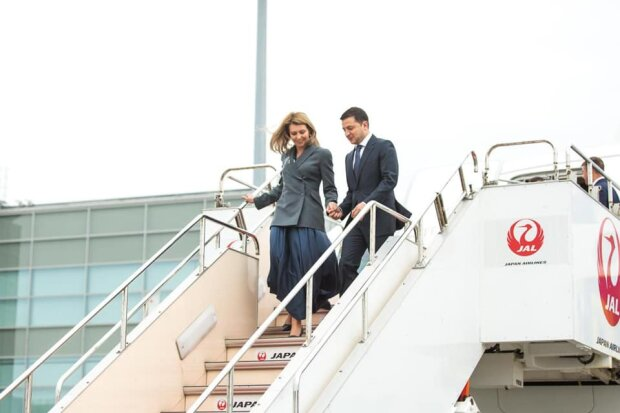 Владимир Зеленский прибыл в Японию вместе с первой леди, фото