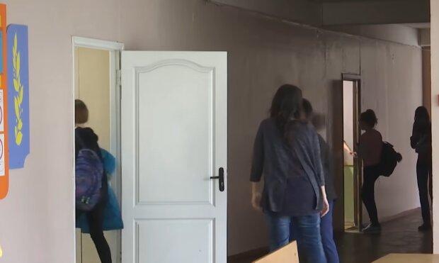 Карантин у школах, скріншот: YouTube