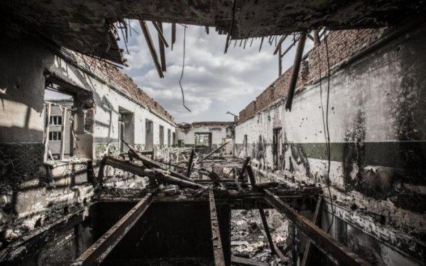 Превратился в решето: Донбасс сегодня выглядит хуже, чем ЧАЭС