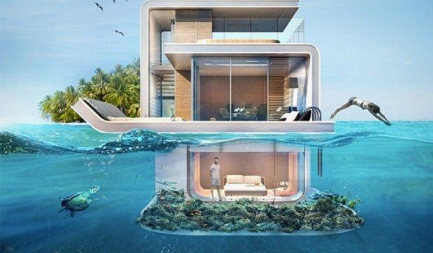 Бунгало під водою - нова мода віп-персон (фото)
