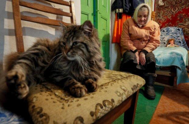 Украинские пенсионеры, фото: REUTERS
