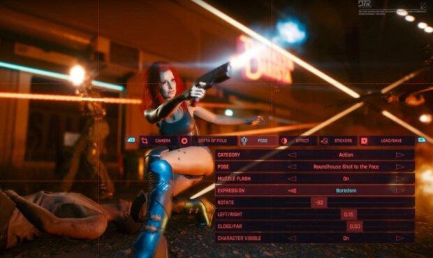 Cyberpunk 2077, скріншот