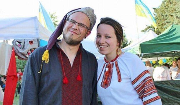 Итальянцы провели акцию солидарности с Украиной