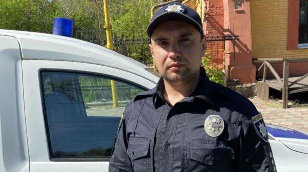 Поліцейський Маріуполя, фото: Національна поліція