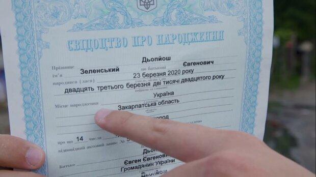 Дьопйош Зеленський, скріншот з відео