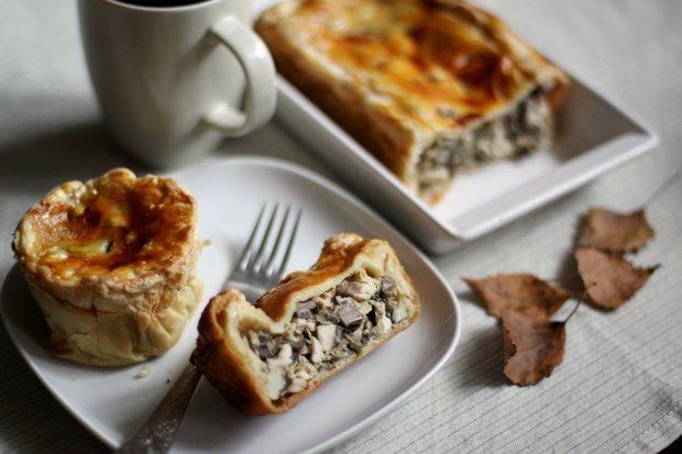 Готуємо пиріжки з грибами: найсмачніший рецепт