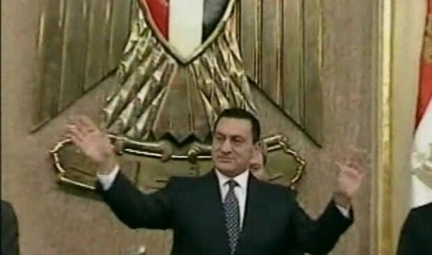 Хосни Мубарак, скриншот: YouTube