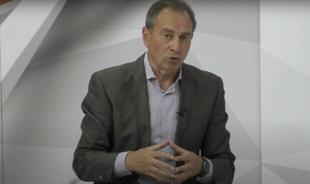 Николай Томенко, скриншот из видео