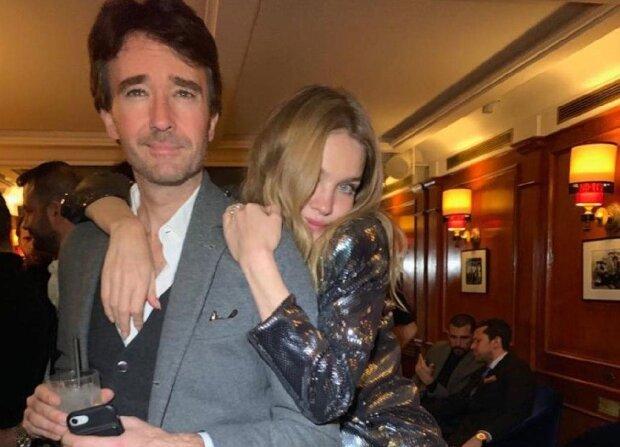 Наталя Водянова з чоловіком, фото з Instagram