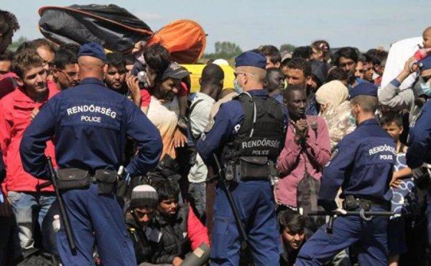 Венгры загонят мигрантов в лагеря