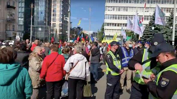 У Києві протестували проти продажу землі