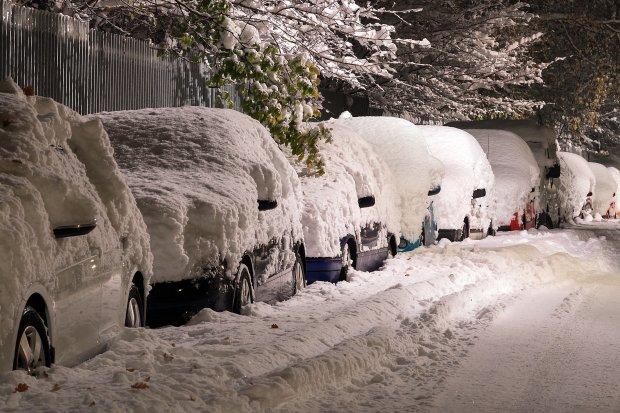 Любимый курорт украинцев засыпало снегом: потрясающие фото