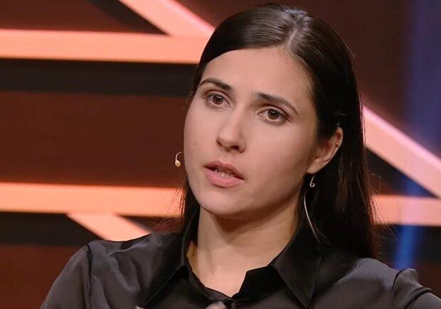 Галина Янченко, скріншот з відео