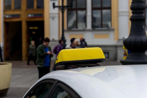 Такси, фото из свободных источников