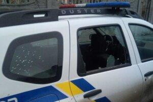 Стрілянина під Києвом, Національна поліція