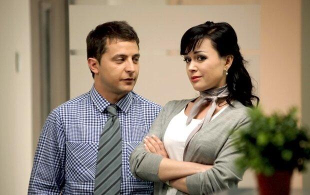 Владимир Зеленский и Анастасия Заворотнюк