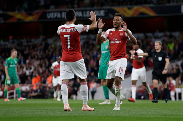 Ліга Європи: Ворскла забила Арсеналу в Лондоні, але англійці були на коні
