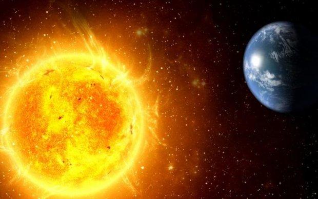 Гигантский НЛО промчался вблизи раскаленной звезды