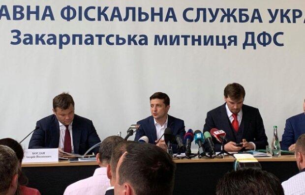 Зеленський в ДФС, mukachevo.net
