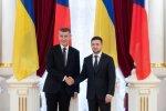 Володимир Зеленський і Андрій Бабиш, фото: Офіс президента