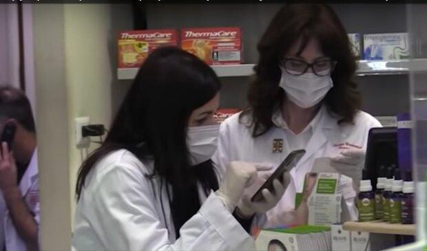 Коронавирус из Китая, скриншот с видео