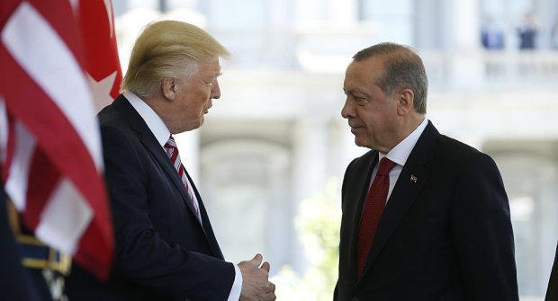Телефонный тет-а-тет: Трамп и Эрдоган обсудили сирийский ужас, назревает нечто страшное