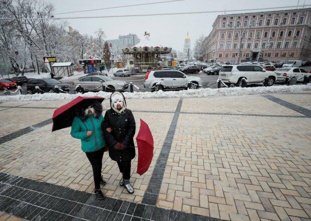 Киев поглотит тьма 13 декабря