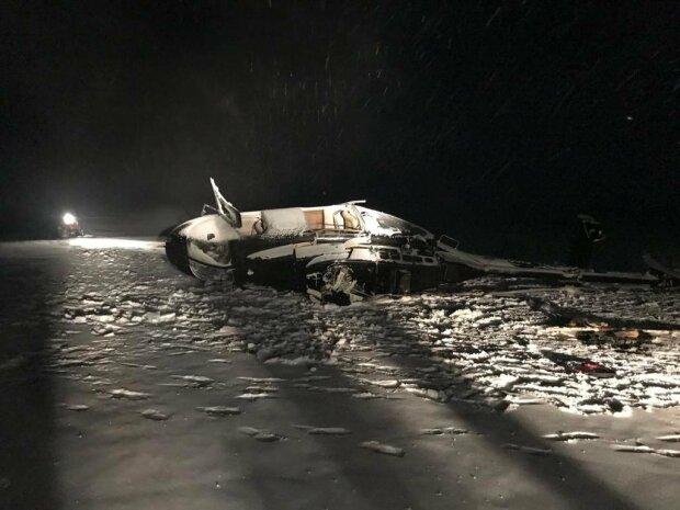 49-летний депутат погиб в авиакатастрофе, спасатели показали кадры с места падения вертолета