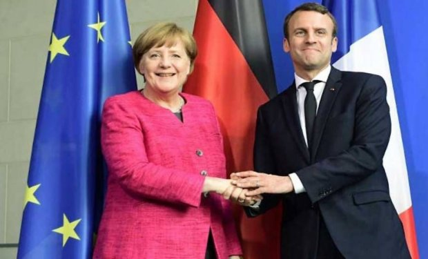 Меркель та Макрон