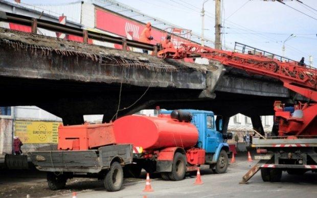 В сети появились первые эскизы нового Шулявского путепровода