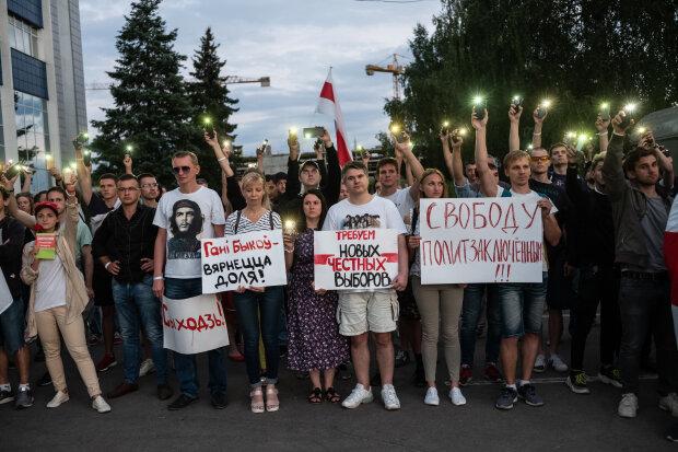 протести в Білорусі, фото GettyImages