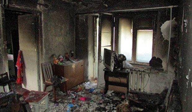 На Донеччині загинули діти під час пожежі у квартирі (фото)