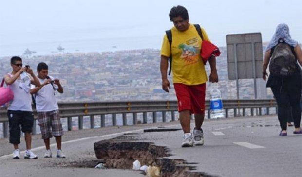 В Чили вновь произошло землетрясение