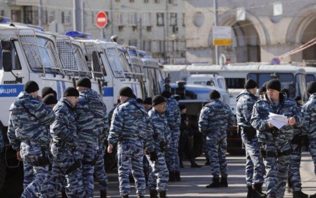 """Опубликованы фото """"зачисток"""" оппозиционных митингов в Москве"""