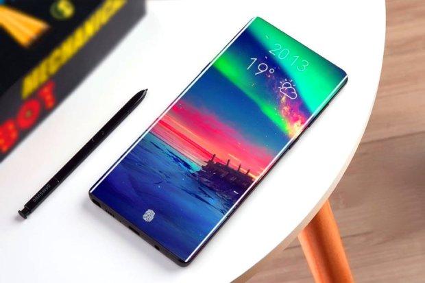 Samsung Galaxy Note 10: у мережі з'явилися перші фото смартфона майбутнього