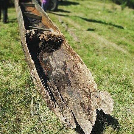 Човен древлян, фото facebook