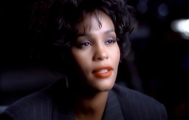 Уитни Хьюстон, скриншот видео