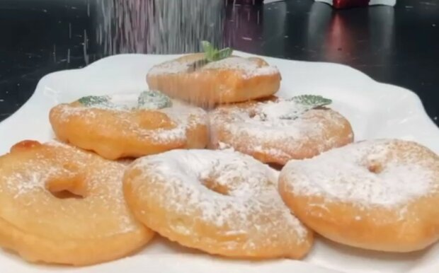 Пончики, кадр з відео