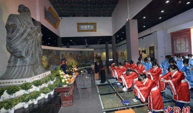 День народження Конфуція китайці святкують два рази на рік