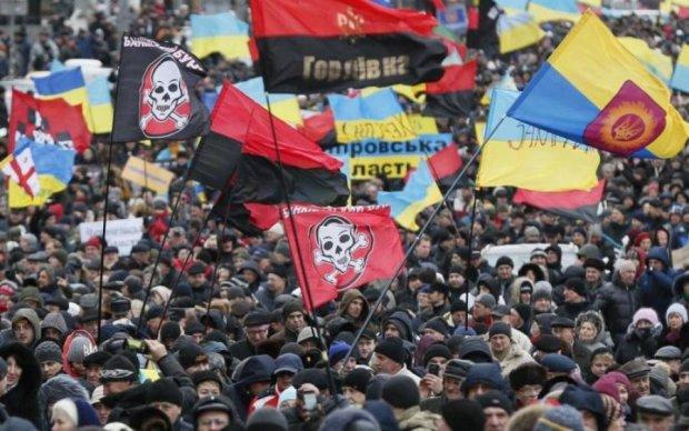 Марш Саакашвілі об'єднав тисячі українців: вражаючі кадри