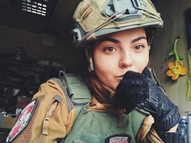 Алина Михайлова на войне с 2014 года, фото:facebook