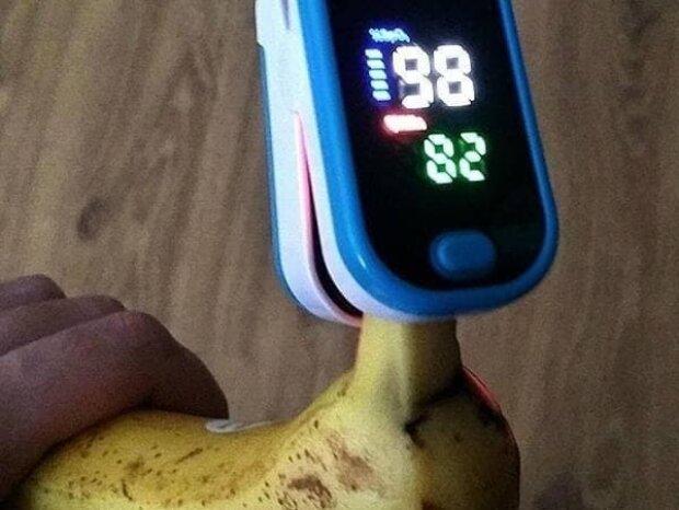 Банан, фото з Telegram-каналу