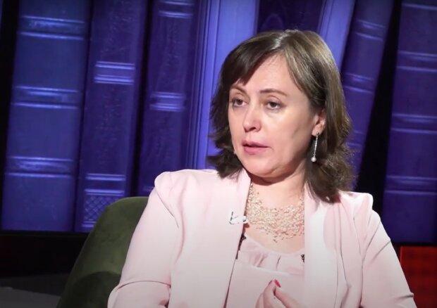 Александра Гуменная, скриншот видео