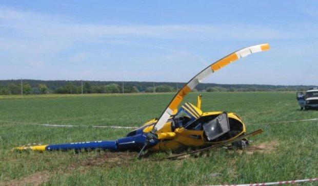В России снова упал вертолет