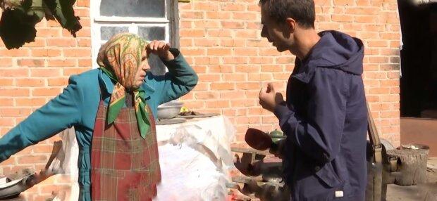 Одружився на бабусі, фото: скріншот з відео